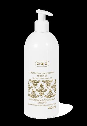 loción corporal protectora aceite de argán